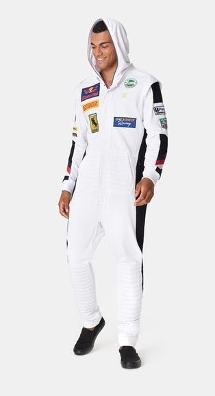 OnePiece Overal Formula White - S, S - 7