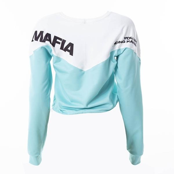 Labella Mikina Turquoise/White - M, M - 7