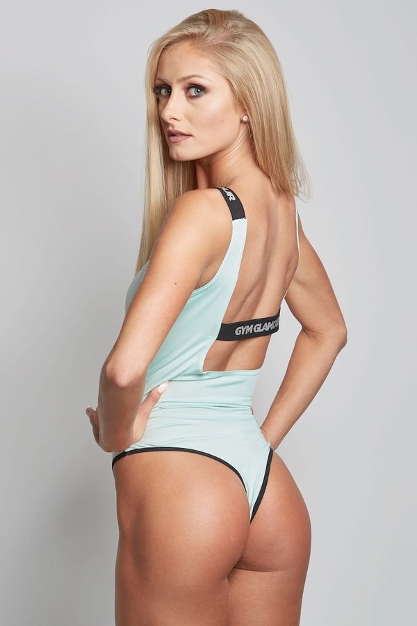 Gym Glamour Body Suit Menthol, XS - 7